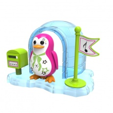 DigiPenguins z igloo Parker ciemno różowy S88344/44 OU